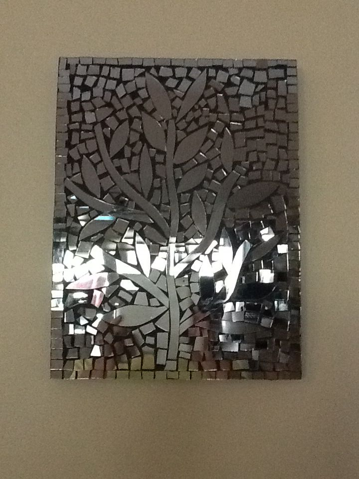 134 best images about mosaics with mirrors on pinterest for Cracked mirror tiles