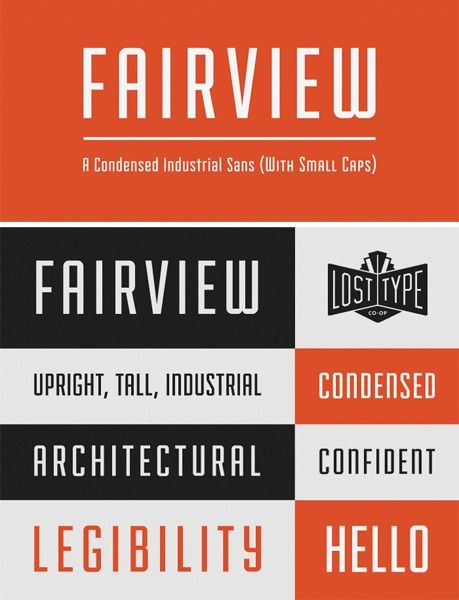 The 100 Greatest Free Fonts for 2014 fairview