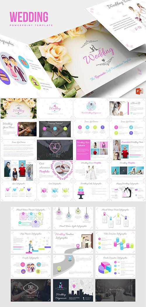 wedding powerpoint template template powerpoint presentation