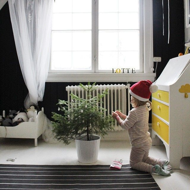 Lite juletre - til Nora - natur - enkelt