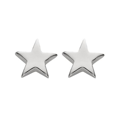 Sterling Silver Studs - Stars