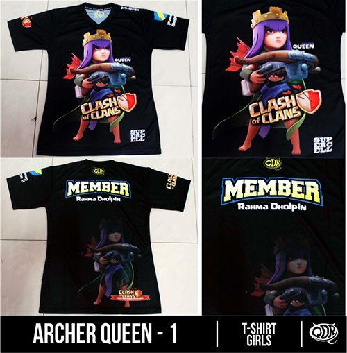 Archer Queen-1 Sublimaion Print By. Qita design QDR Racing Online Shop(Pin BB: 32FC121F)
