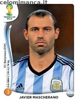 Panini Coppa del Mondo FIFA Brasile 2014: Fronte Figurina n. 421