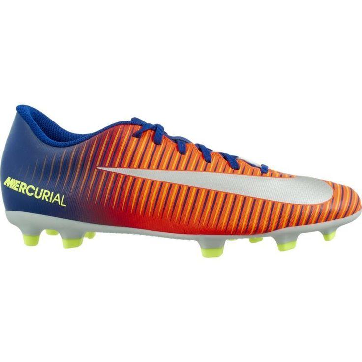 Nike Men's Mercurial Vortex III FG Soccer Cleats, Blue