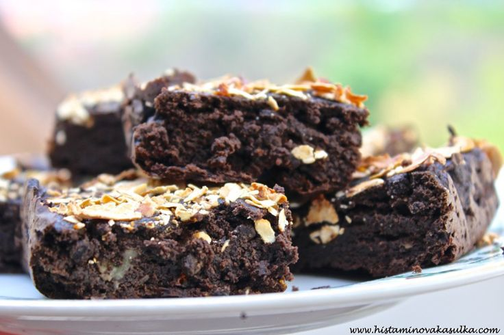 Karobové brownies