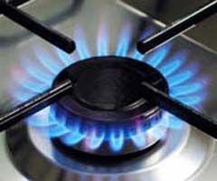 очистить решетку газовой плиты от нагара