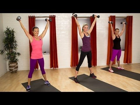 ▶ 10-Minute Fat Burning Workout | Class FitSugar - YouTube