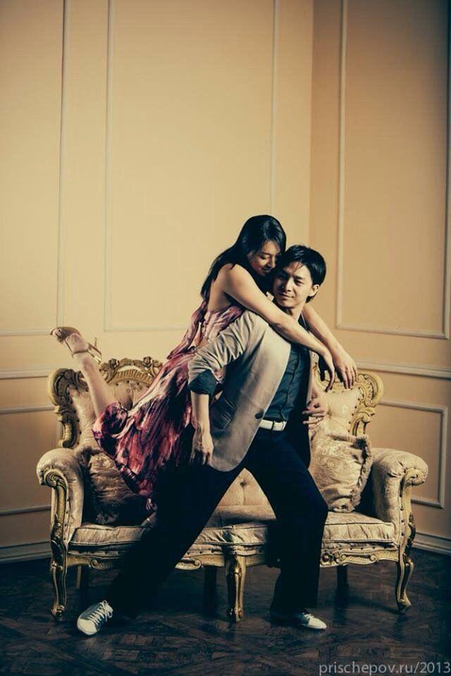 We made her tango costume dress.  pipapipa tango Tzu-han&Kyoko 2013.Dec. in Russia.
