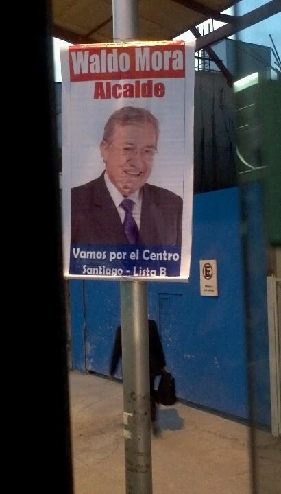 Este es un alcalde muy moderno!!