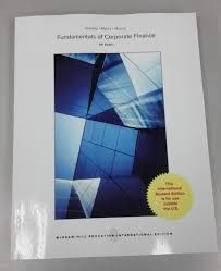 Fundamentals of corporate finance / Richard A. Brealey, London Business School, Stewart C. Myers, Sloan School of Management, Massachusetts Institute of Technology, Alan J. Marcus, Carroll School of Management, Boston College. Ninth edition. (2017)