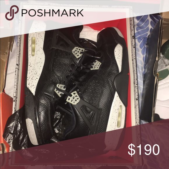 Jordan Oreo 4s Condition: 9/10 Jordan Shoes Sneakers