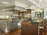 Creating a Gourmet Kitchen(page 1 of 2) Professional appliances, durable surfaces and specialty storage make a kitchen fit for a foodie By Kristen Hampshire