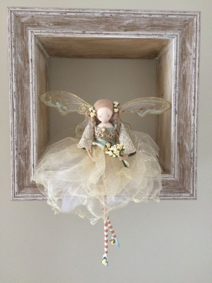 Vintage Bridal/Bridesmaid Fairy by FabulousFairyFactory on Etsy