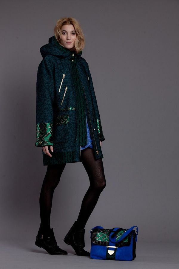 PARKA BROCARD http://www.heimstone.com/fr/product/collection+femme/manteaux/h1323v2as,v2as+verts,parka-jacobs.html
