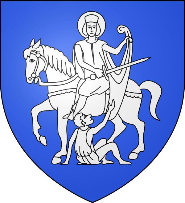 Blason de Saint Martin de Castillon dans le Luberon