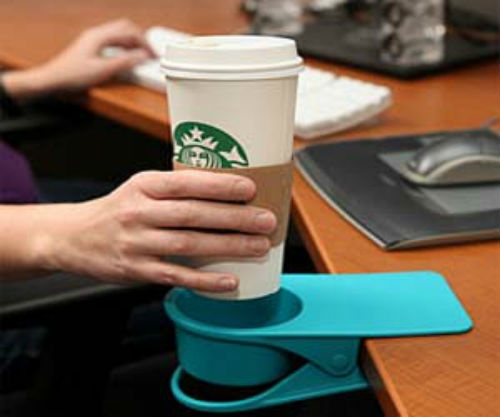 Great way to prevent coffee from spilling all over your desk and computer. $19.99#Repin By:Pinterest++ for iPad#