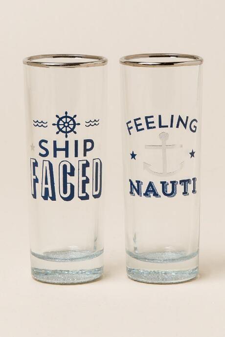Feeling Nauti Shot Glass Set $10.00