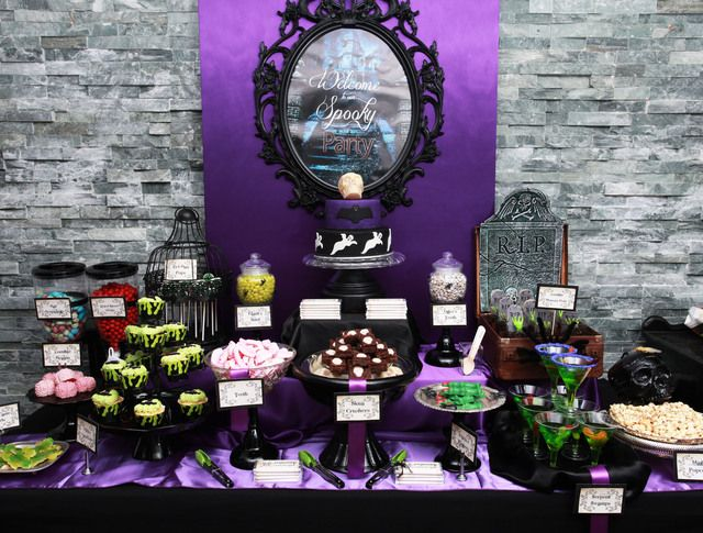 67 Best Halloween Candy Buffet Images On Pinterest Halloween