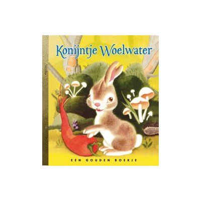 Kippetje Tok vindt op een dag een tarwekorrel en wil hem gaan planten, maar niemand wil hem helpen. De kat niet, het varken niet, de eend niet en ook de gans niet. Dan doet zij het maar zelf.  http://www.benjaminbengel.com/gouden-boekjes/1101139-konijntje-woelwater-9789054449171.html
