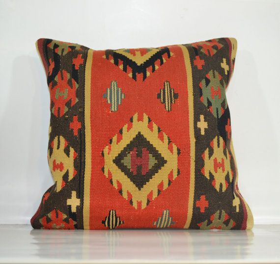 Hey, I found this really awesome Etsy listing at https://www.etsy.com/listing/177353469/cushion-cover-kilim-pillow-sham