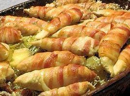 Billede af Baconsvøbt Kylling i Stegeso fra Verdens Lækreste Opskrifter