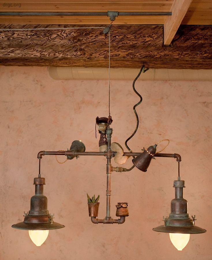 Klaar lamp antieke