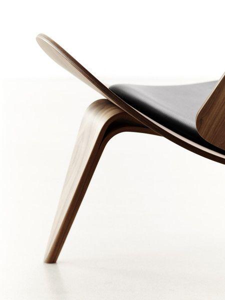 Fotel Shell Chair | CARL HANSEN | DESIGNZOO | Designzoo.pl