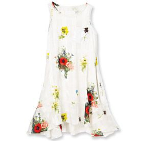 Eco Exclusive! Svilu's Floral Frock is Made for Spring  #InStyle