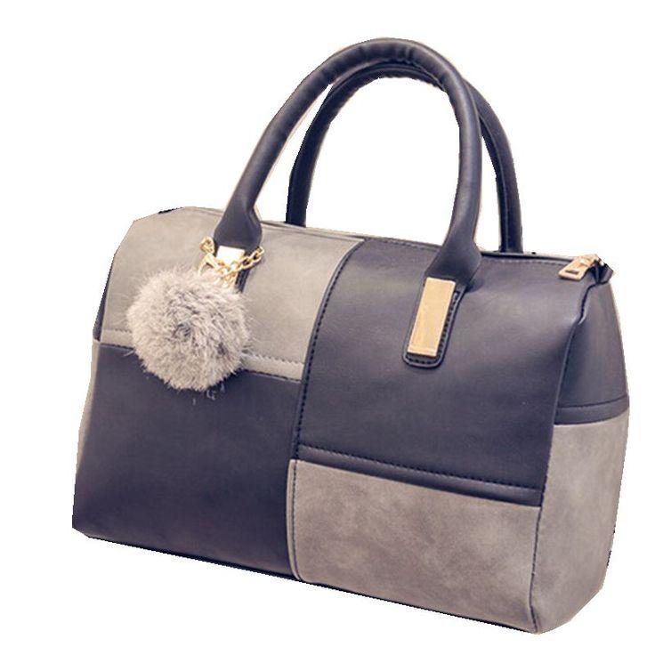 New Fashion High Quality Leather Messenger Bags Top-Handle Shoulder Bucket Bag Women Handbags Lady Bolsa Feminina //Price: $32.90 & FREE Shipping //     #womenbags