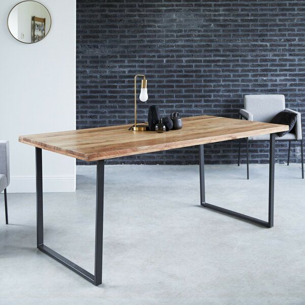 You Will Love Its Industrial Design With This Dining Table