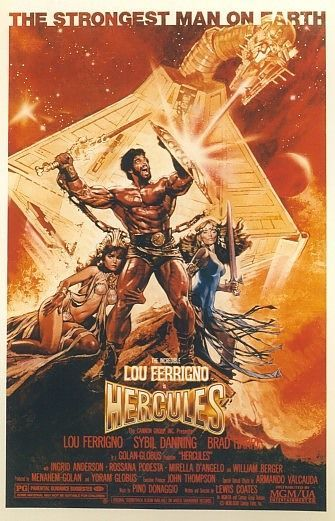 Movie posters art hercules 1983 bizarre movies herculesposter1983