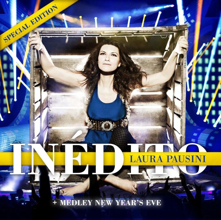 """""""Inédito, edición Especial"""" de Laura Pausini, es un álbum  totalmente en vivo, en el cual podrás disfrutar del """"Las cosas que no me espero"""" a dueto con Carlos Baute, además de un Medley Navideño"""