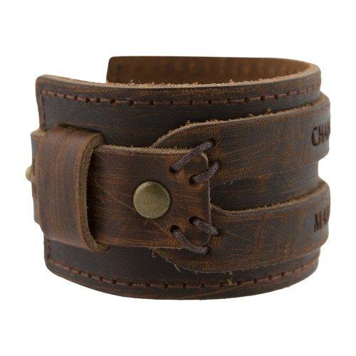 Nomad Leather Bracelet – M1 – Change Maker