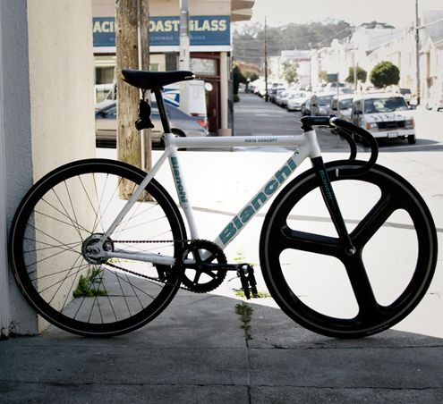 Bianchi Pista Concept : discontinued 2006 to make way for their Super Pista.