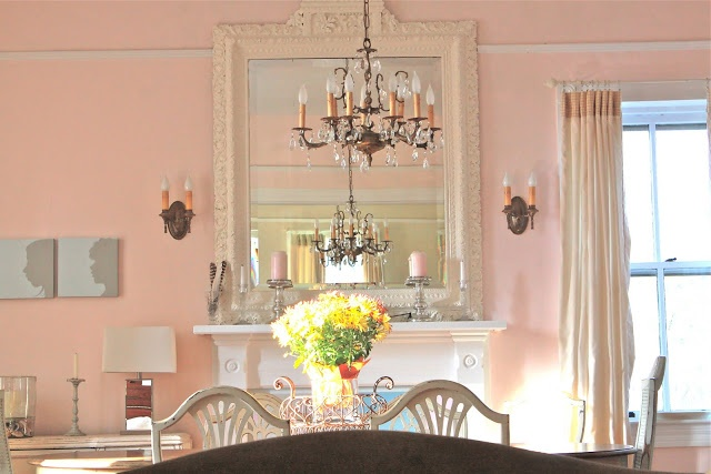 My Old Country House Benjamin Moore Pink Cloud Paint Colors Pinterest Room And Dining Rooms
