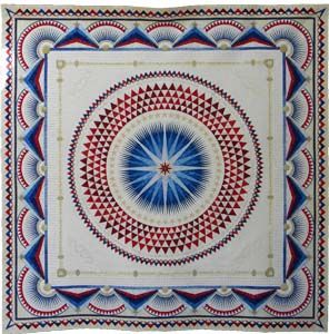 Best of Show at Pacific International Quilt Festival in 2011! Celebrate our 25th year with us October 13-16, 2016