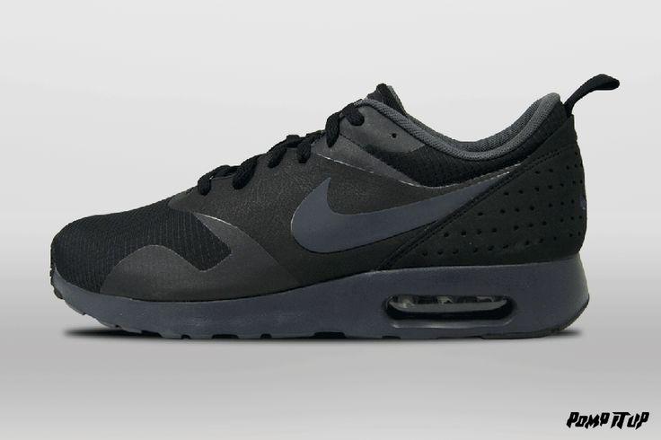 Nike Air Max Tavas (BLACK / ANTHRACITE-BLACK) For Men  Sizes: 40 to 46 EUR Price: CHF 150.- #Nike #AirMax #NikeAirMax #AirMaxTavas #Sneakers #SneakersAddict #PompItUp #PompItUpShop #PompItUpCommunity #Switzerland