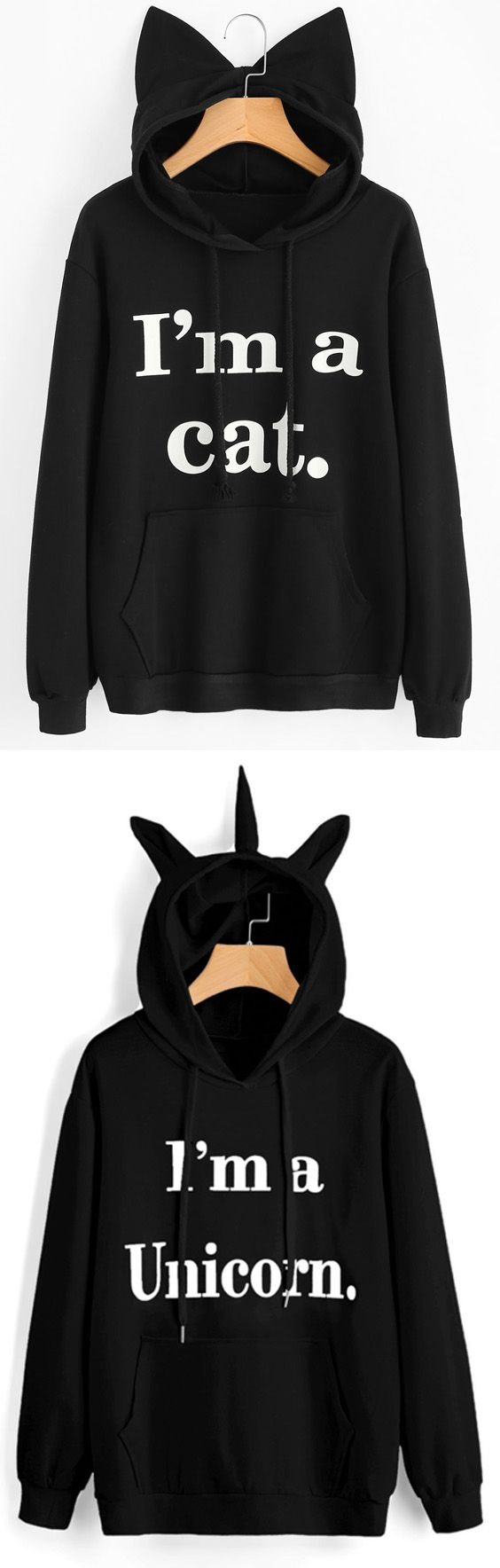 Up to 68% OFF! Front Pocket Letter Graphic Cat Hoodie. #Zaful #fashion #style #tops #outfits #blouses #womens tops #sweatshirts #hoodies #hoodiesoutfit #sweatshirtsoutfit #sweatshirtsforwomen #women'shoodies #womenssweatshirts #cutesweatshirts #floralhoodie #croppedhoodies #oversizedsweatshirt #winteroutfits #winterfashion #fallfashion #falloutfits #halloweencostumes #halloween #halloweenoutfits #christmas #thanksgiving #gift @zaful Extra 10% OFF Code:ZF2017