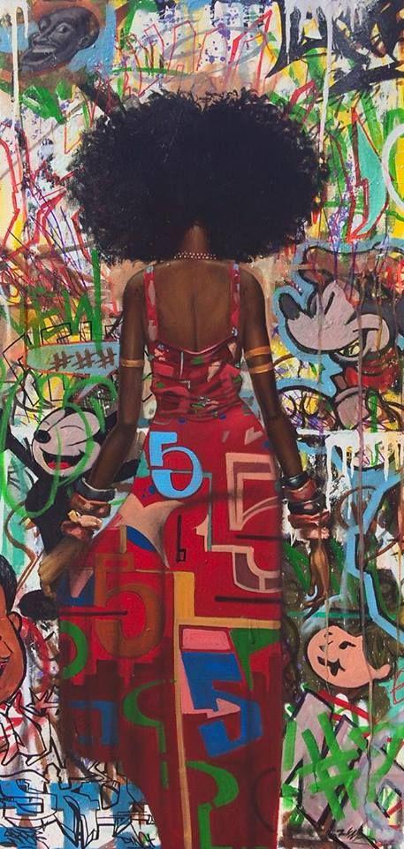 Graffiti … I love this print. Frank Morrison