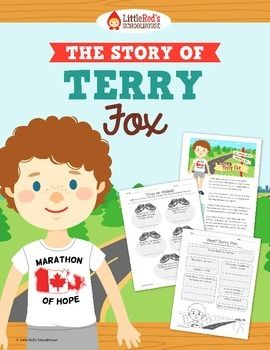 Terry Fox { Biography and Comprehension Lesson Packet } $