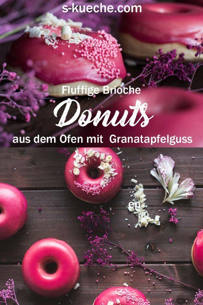 Rezept für fluffige Vanille Brioche Donuts aus dem Backofen – A+++ Best of Blogger