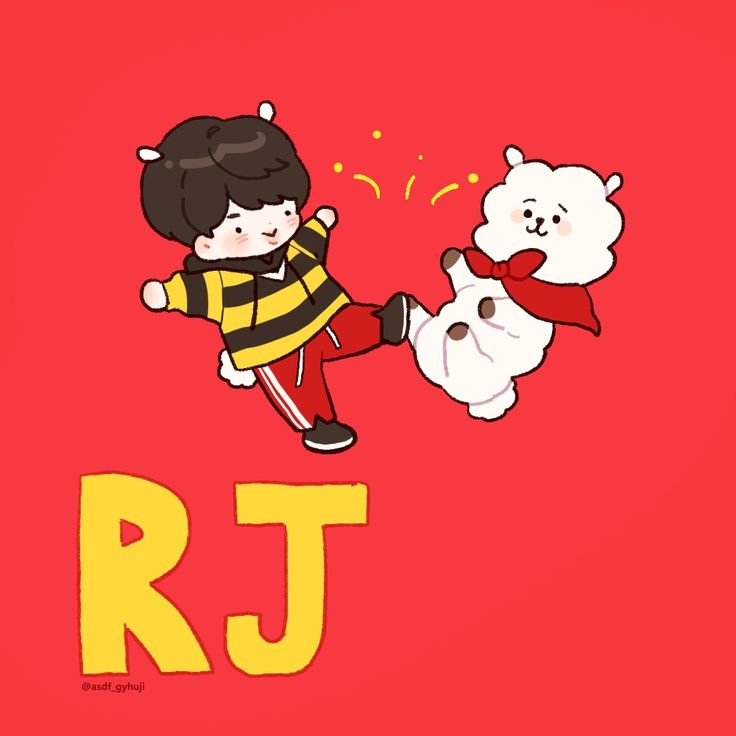 BT21 | Jin the fluffy alpaca
