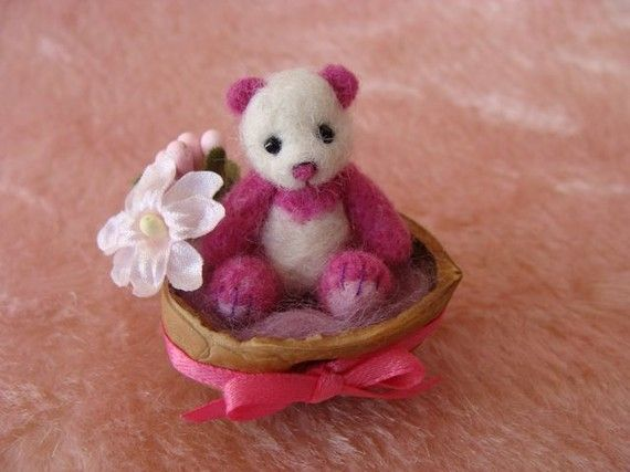 Handmade Teddy Bears and Raggedies: Handmade Miniature Teddy Bears for Sale