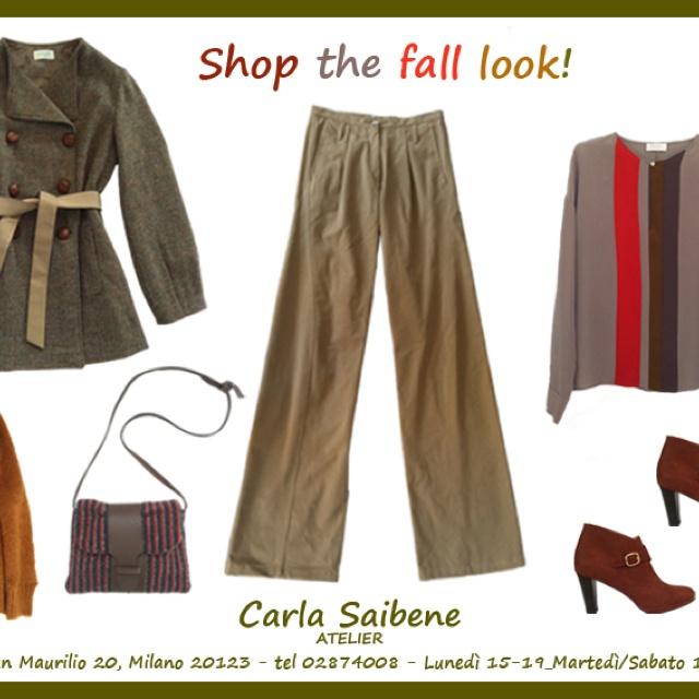 Descrivi il tuo pin...Carla Saibene Atelier: shop the fall look!