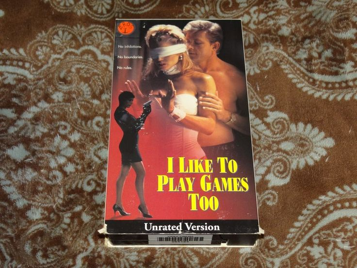 I Like to Play Games Too (VHS, 1998) Rare OOP Eros/Playboy! UNRATED T&A Erotica!