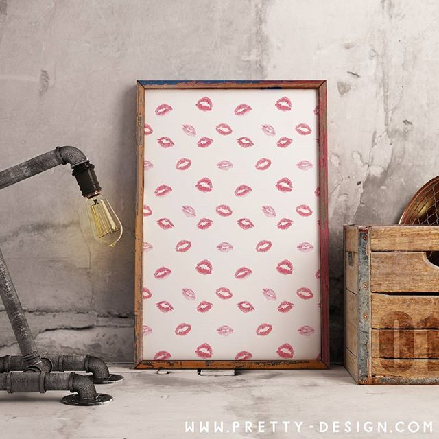 Poster with#lipstickdesign  pretty-design.com  #wallpaper#cute#pretty#modern#fresh#design#style#creative#zazzle#shop#store#designer#artist#zazzleshop#zazzlestore#zazzledesigner#zazzleartist#prettydesign#art#myart#digitalart#picture#hashtag#instagram#product#checkmyshop#collection#followforfollow