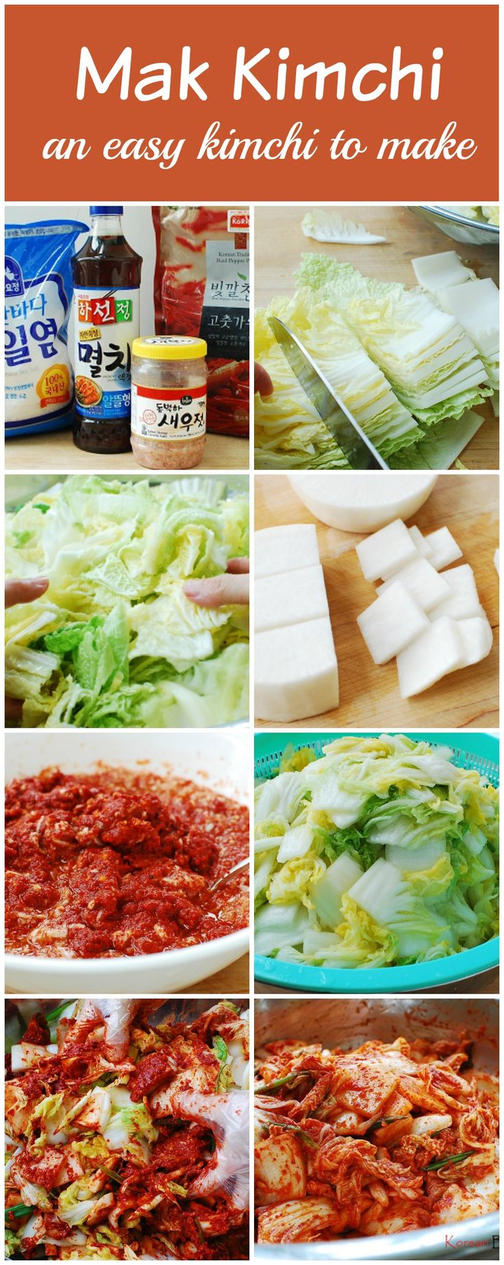 how to cut up napa cabbage