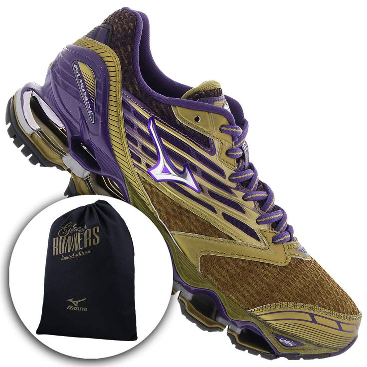 Tênis Mizuno Wave Prophecy 5 Golden Run - Feminino