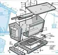 Over 50 Free Bird House and Bird Feeder Woodcraft Plans at AllCrafts.net
