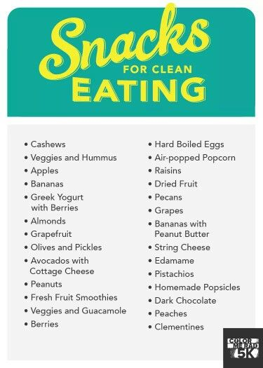 Clean eating - Smart Snack ideas :-)
